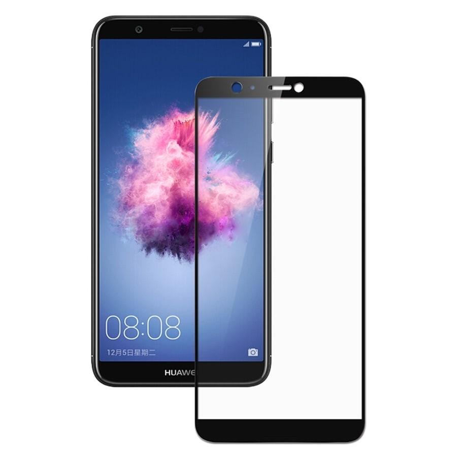 Verre trempé Huawei P Smart Noir Protecteur d'écran