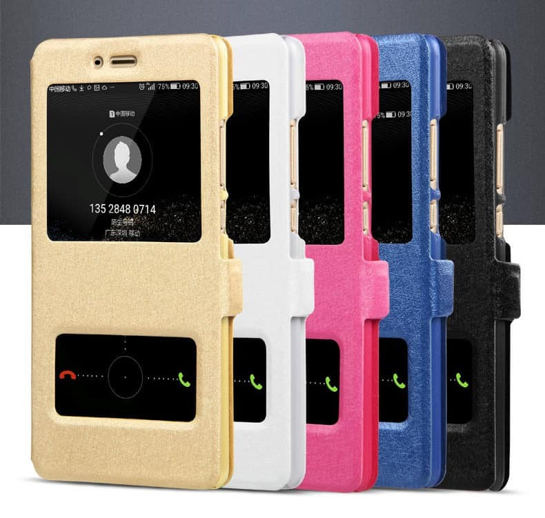 Etuis Portefeuille Huawei P20 Lite fonction Support