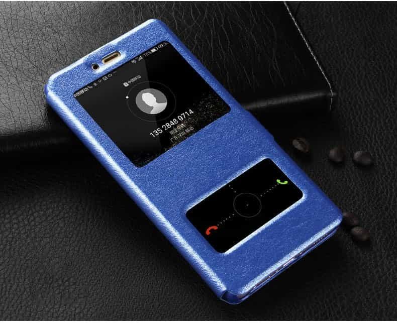 Etuis Portefeuille Huawei Mate 10 Lite fonction Support bleu