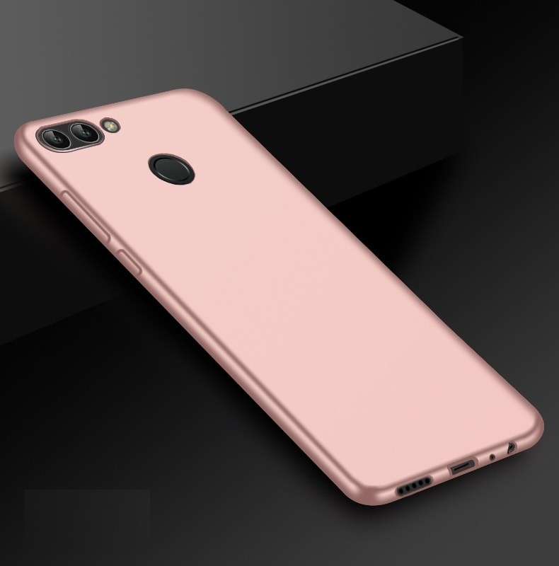 Coque Silicone Huawei P Smart Extra Fine Rose