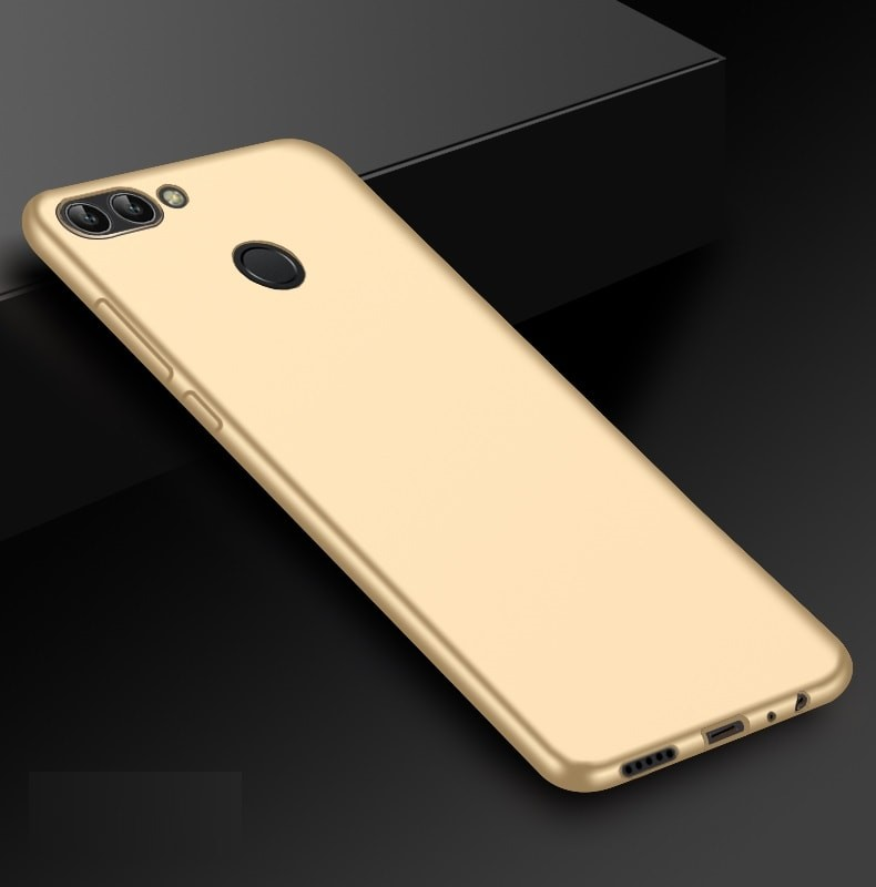 Coque Silicone Huawei P Smart Extra Fine Dorée