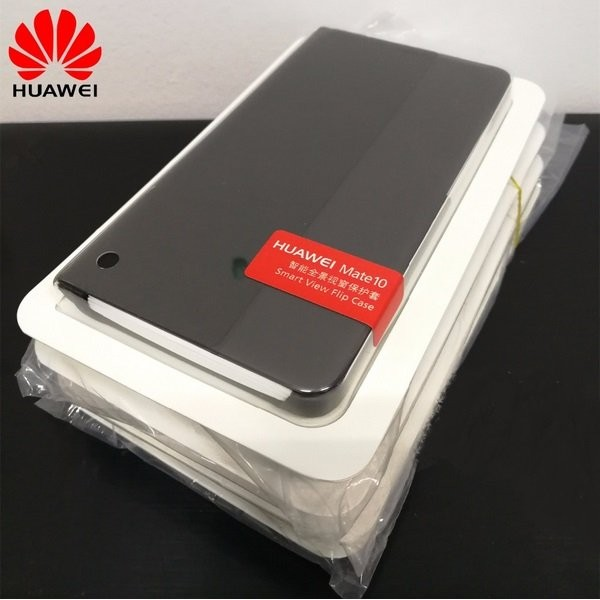 Etuis Officiel Smart Cover Huawei Mate 10 Noir.