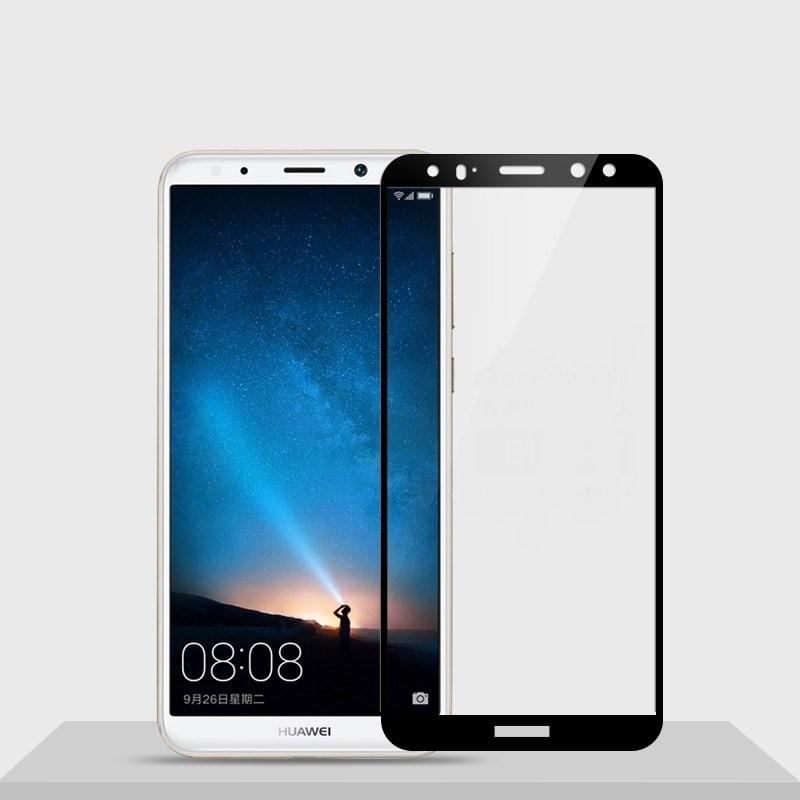 Verre trempé Huawei Mate 10 Lite Noir Protecteur d'écran