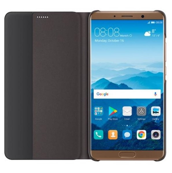 Etuis Officiel Smart Cover Huawei Mate 10 Marron.