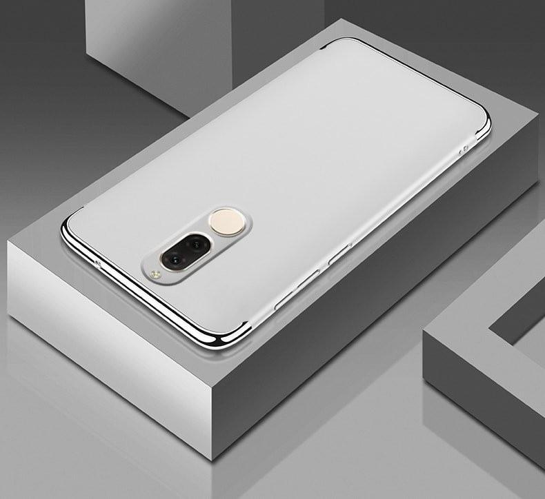 Coque Huawei Mate 10 Lite Rigide Chromé Grise
