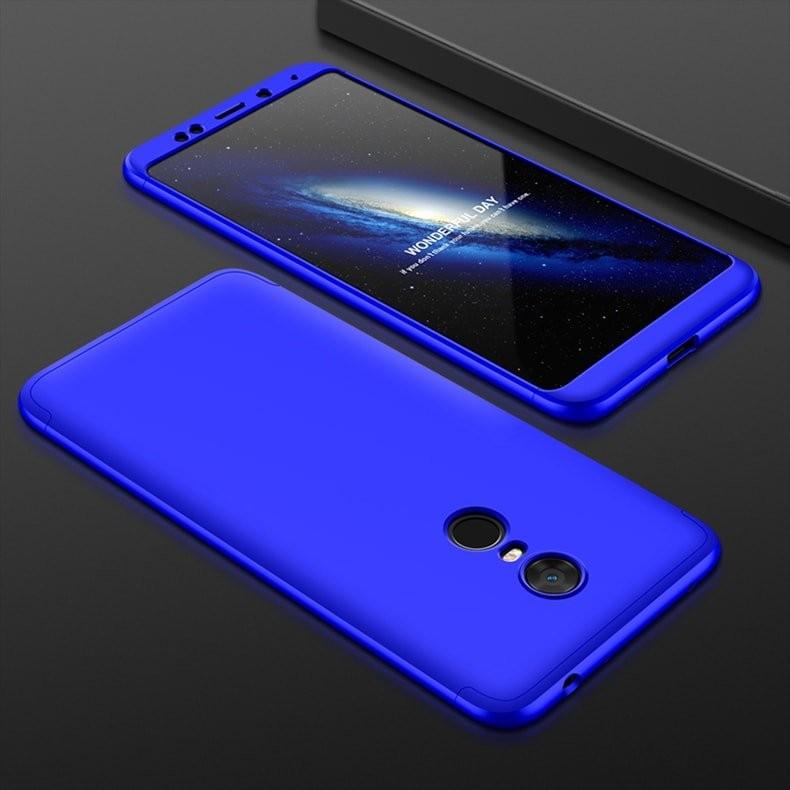Coque 360 Redmi 5 Plus Bleu
