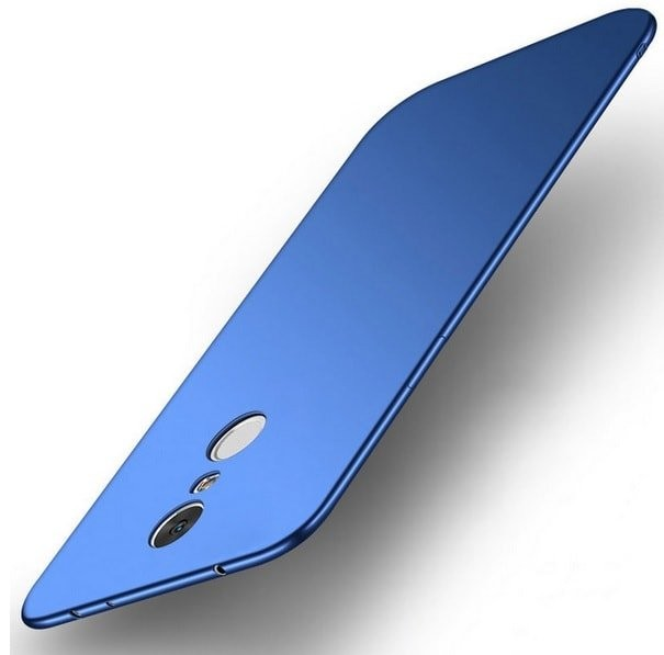 Coque Silicone Xiaomi Redmi 5 Plus Extra Fine Bleu