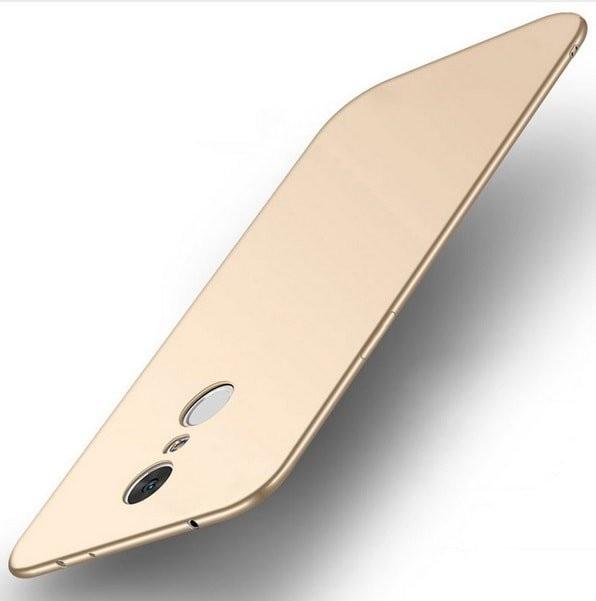 Coque Silicone Xiaomi Redmi 5 Plus Extra Fine Doré