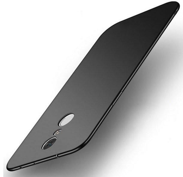 Coque Silicone Xiaomi Redmi 5 Plus Extra Fine Negra