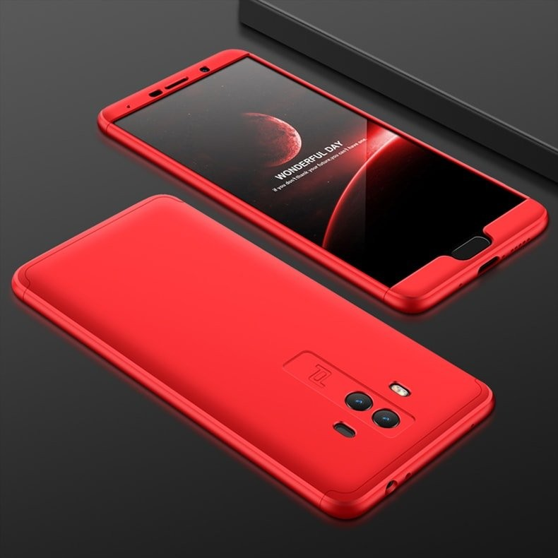 Coque Huawei Mate 10 360º rouge