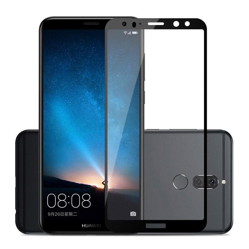 Verre trempé Huawei Mate 10 Noir Protecteur d'écran