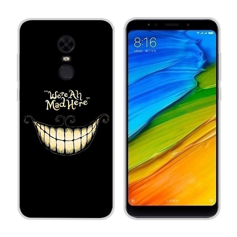 Coque Silicone Xiaomi Redmi 5 Plus Sourire