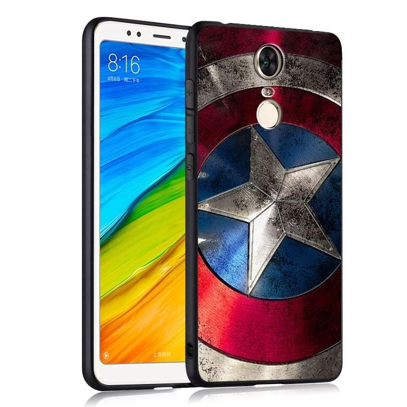 Coque Silicone Xiaomi Redmi 5 Plus America