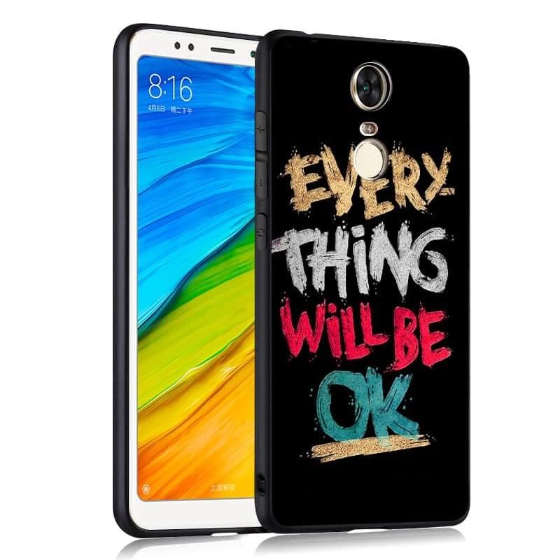 Coque Silicone Xiaomi Redmi 5 Plus OK