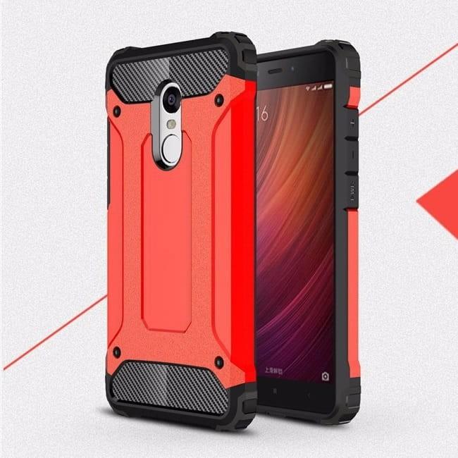 Coque Xiaomi Redmi 5 Plus Anti Choques rouge