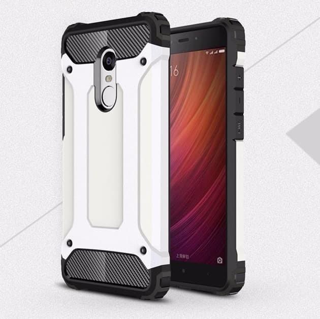 Coque Xiaomi Redmi 5 Plus Anti Choques blanc