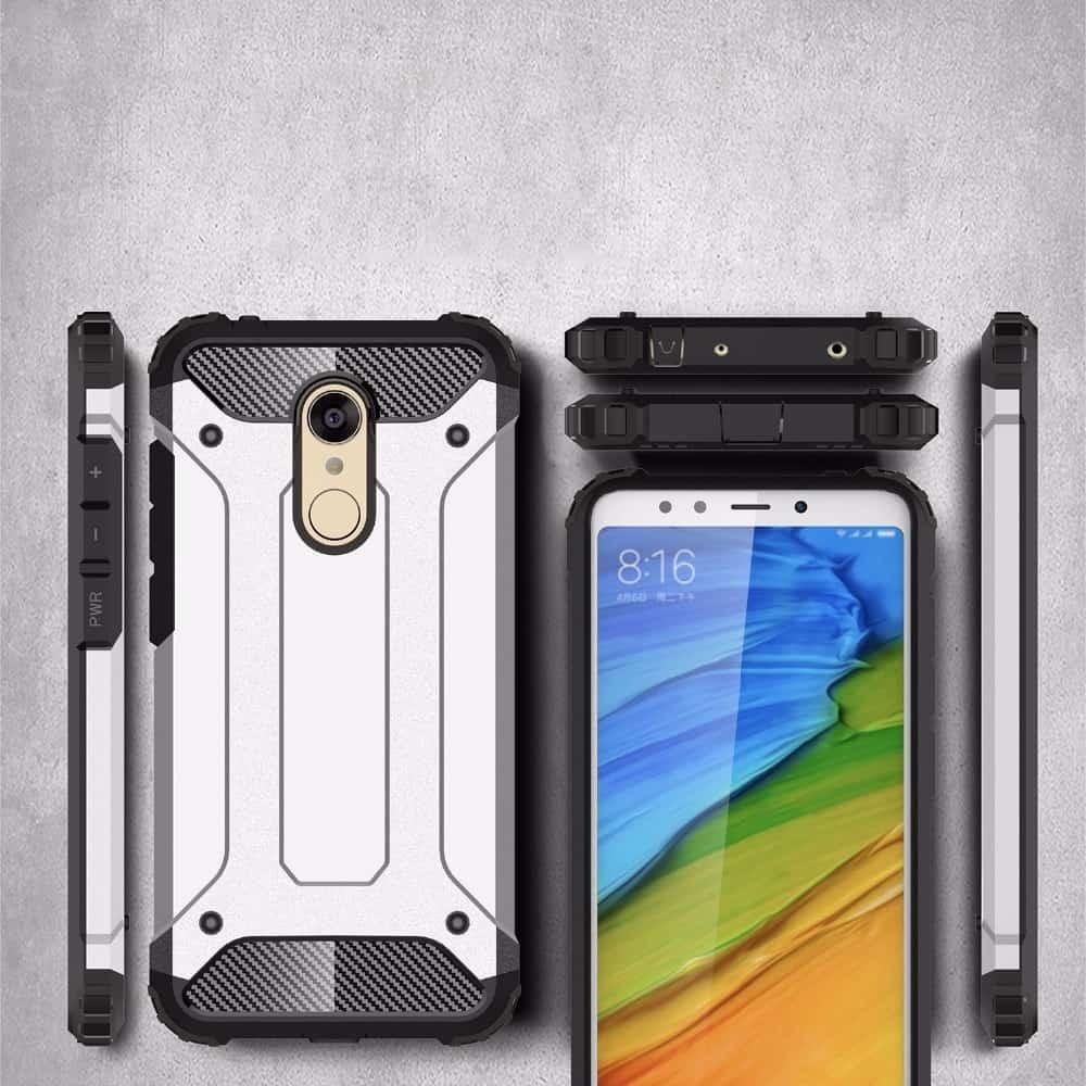 Coque Xiaomi Redmi Note 5 Pro Anti Choques Bleu Marine