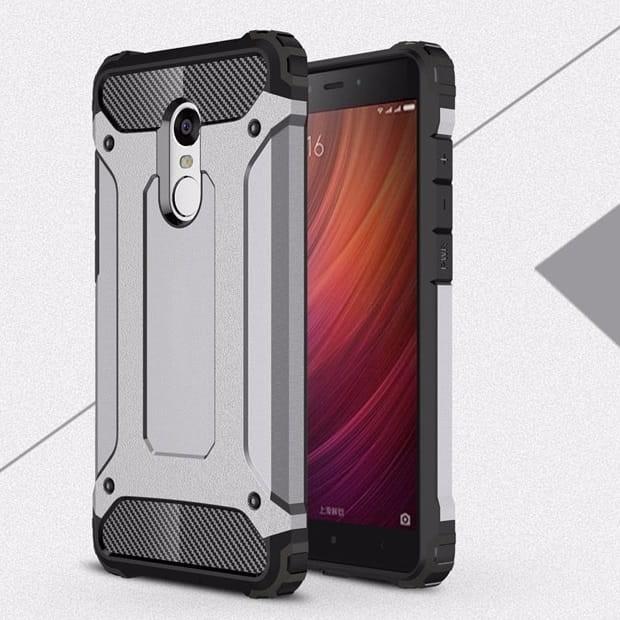 Coque Xiaomi Redmi 5 Plus Anti Choques grise