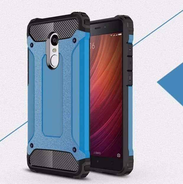 Coque Xiaomi Redmi 5 Plus Anti Choques bleu
