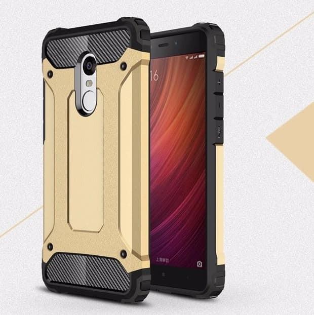 Coque Xiaomi Redmi 5 Plus Anti Choques doré
