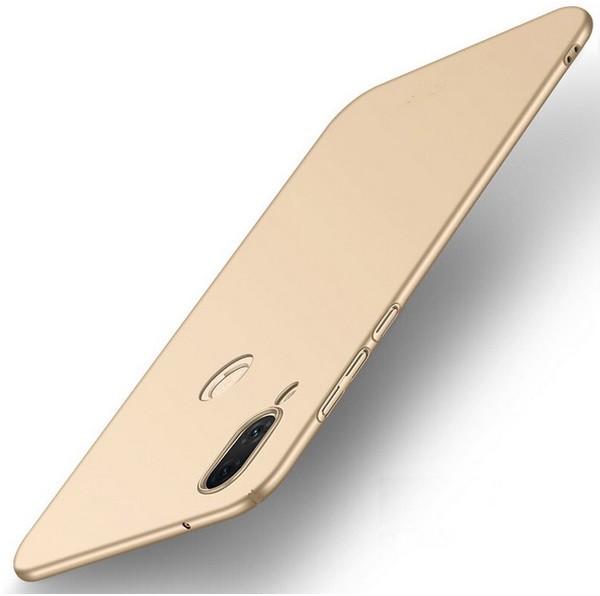 Coque Silicone Huawei P20 Lite Extra Fine Dorée