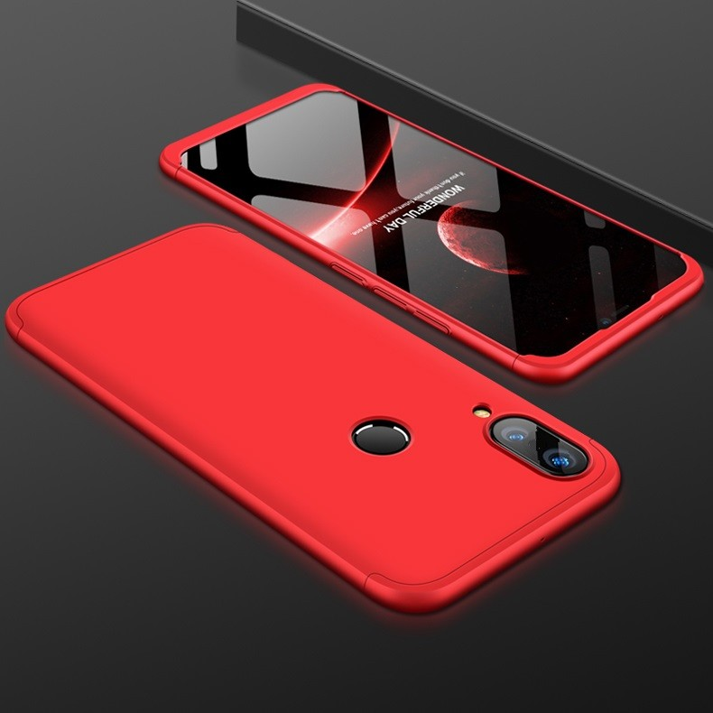 Coque 360 Huawei P20 Lite Rouge.