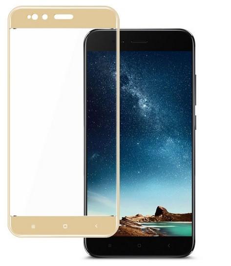 Verre Trempé Xiaomi Mi A1 Protecteur d'écran Doré