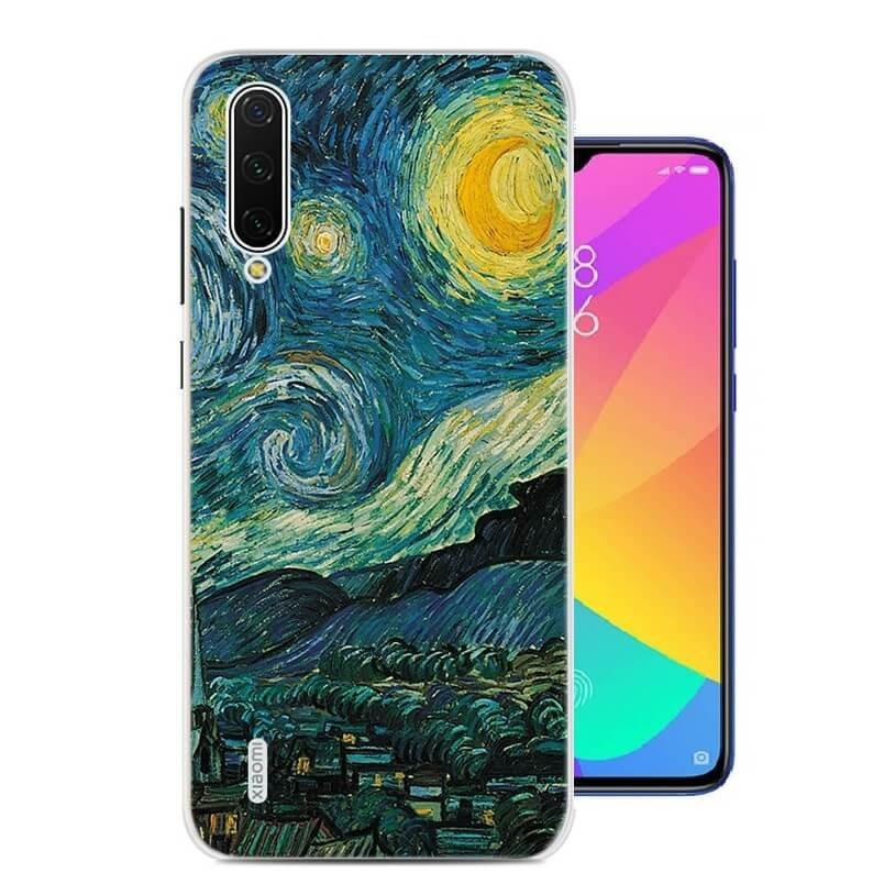 Coque Silicone Xiaomi MI 9 Lite Art