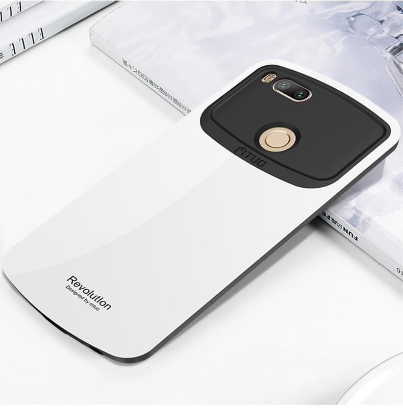 Coque Xiaomi Mi A1 Revolution Blanche