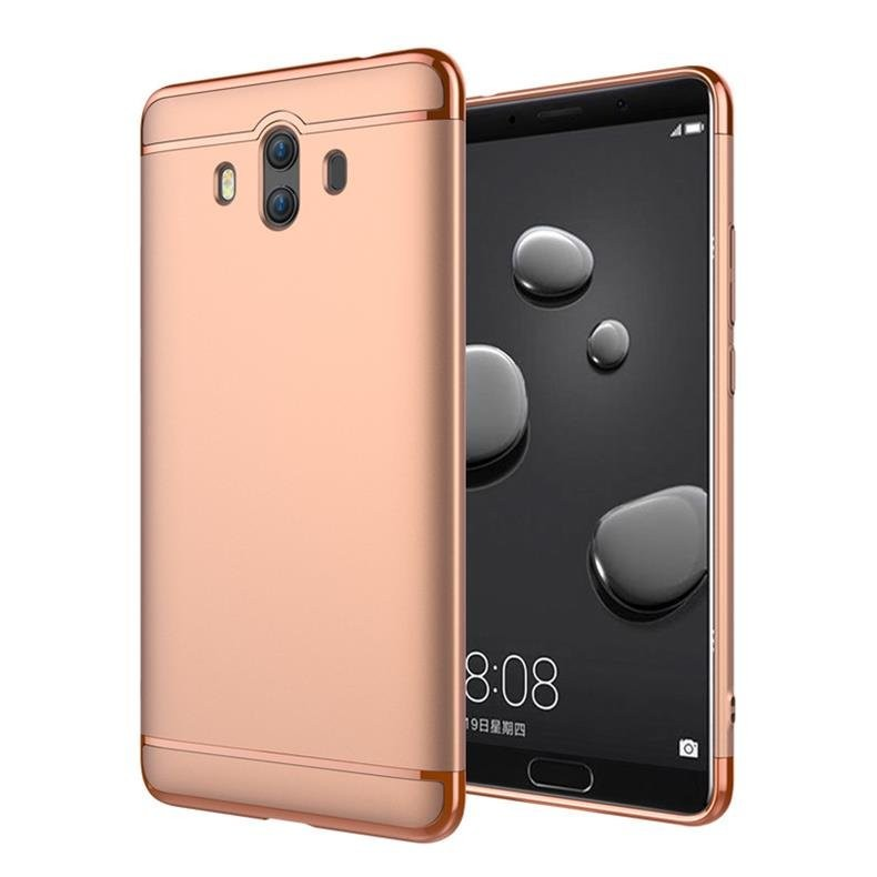 Coque Huawei Mate 10 Rigide Chromé Rose