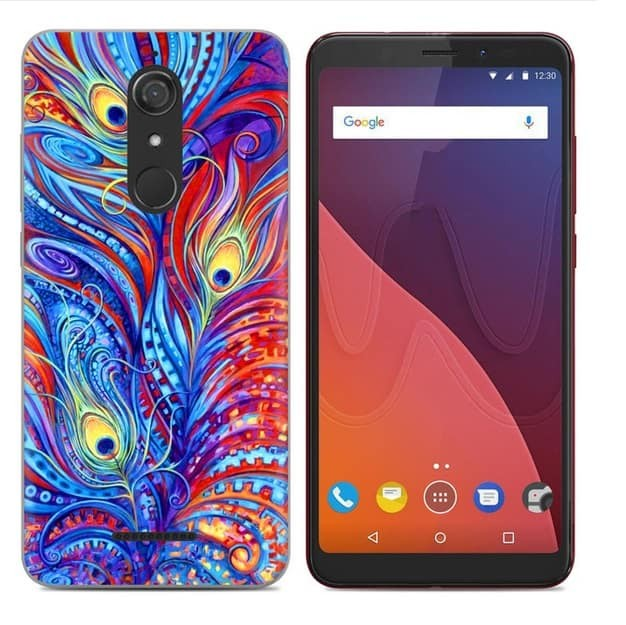 Coque Silicone Wiko View Paon