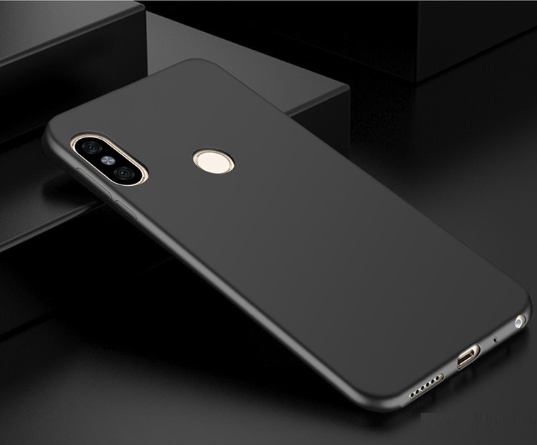 Coque Silicone Xiaomi MI 6X Extra Fine Noir