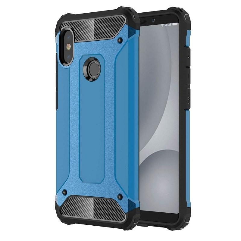 Coque Xiaomi Redmi Note 5 Pro Anti Choques Bleu