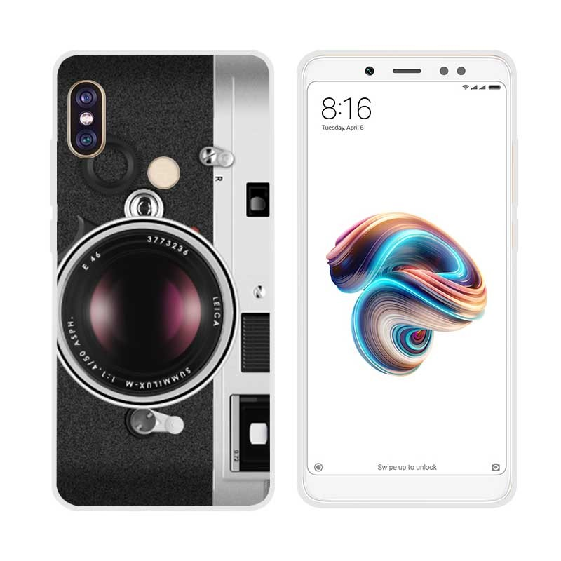 Coque Silicone Xiaomi Redmi Note 5 Camera