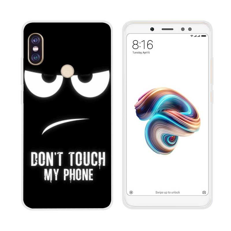 Coque Silicone Xiaomi Redmi Note 5 Faché