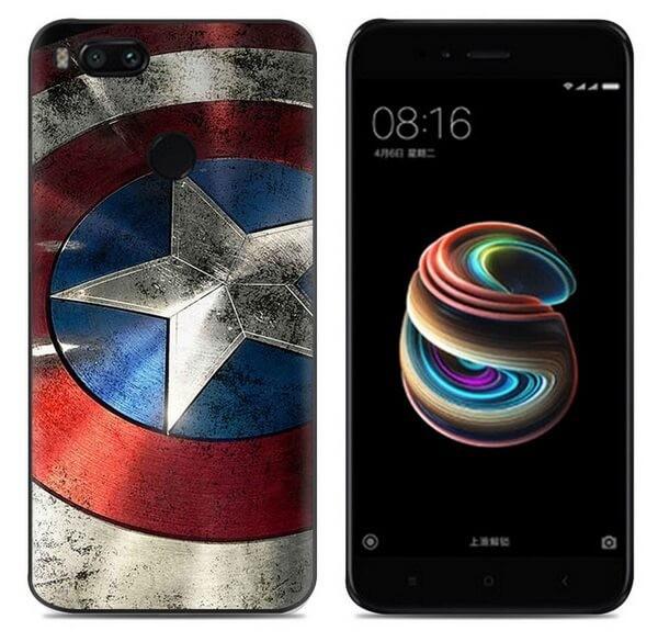 Coque Silicone Xiaomi MI A1 America
