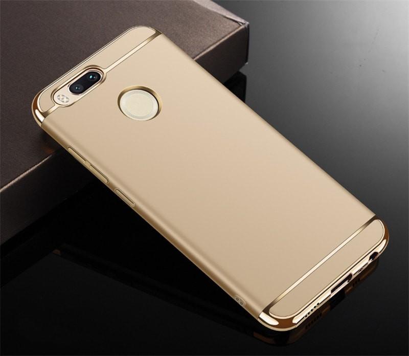Coque Xiaomi MI A1 Rigide Chromée Doré.