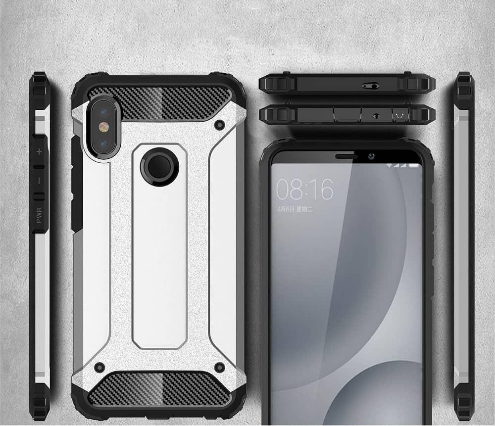 Coque Xiaomi MI 6X Anti Choques Rose