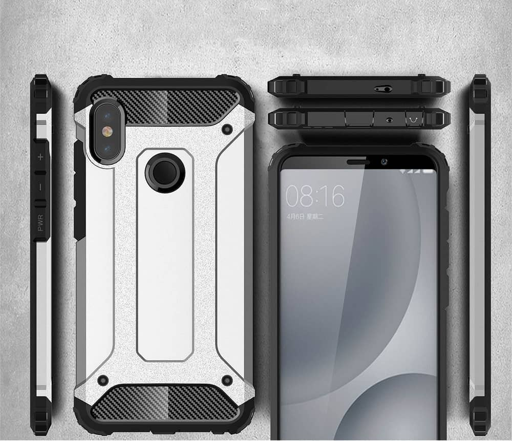 Coque Xiaomi MI 8 Anti Choques Dorée