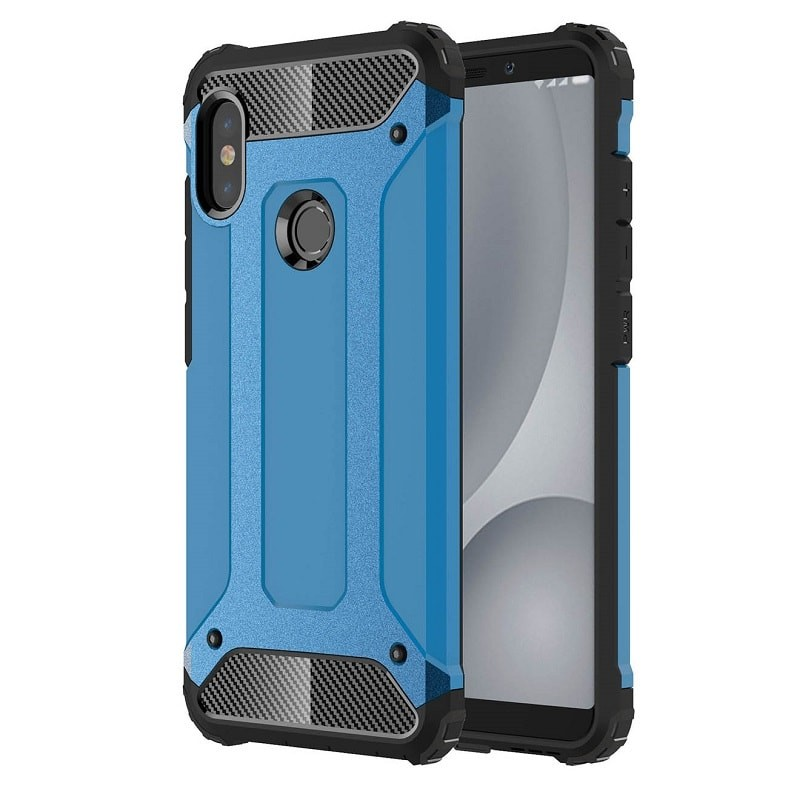 Coque Xiaomi Redmi Note 5 Anti Choques Bleu
