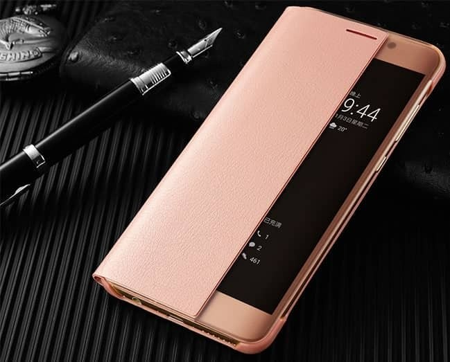 Etuis Huawei Mate 10 Smart Or Rose