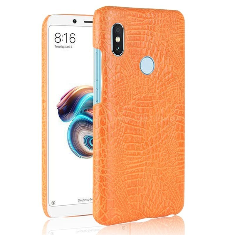 Coque Xiaomi MI 6X Croco Orange