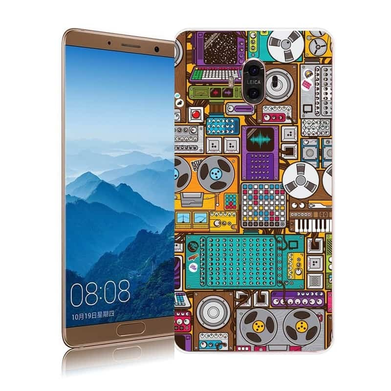 Coque Huawei Mate 10 Silicone Geek