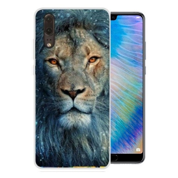 Coque Silicone Huawei P20 Lion