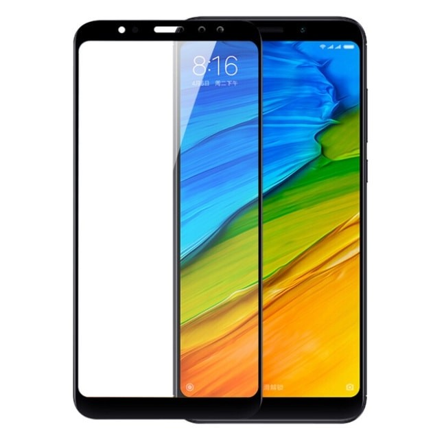 Verre Trempé Xiaomi Redmi Note 5 Pro Protecteur d'écran Noir